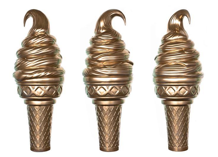 giant ice cream prop