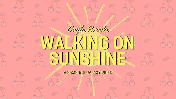 Cayla Brooke - Walking on Sunshine (Jazzy Cover) https://youtu.be/kM5KOQrWdIU?utm_campaign=coschedule&utm_source=pinterest&utm_medium=Cayla&utm_content=Cayla%20Brooke%20-%20Walking%20on%20Sunshine%20%28Jazzy%20Cover%29 A sure way to feel good.