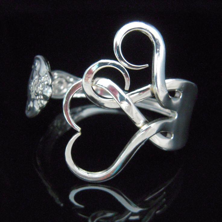 M s de 25 ideas fant sticas sobre anillo de tenedor en for Pulsera tenedor