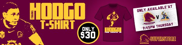 Broncos NRL T-shirt deal