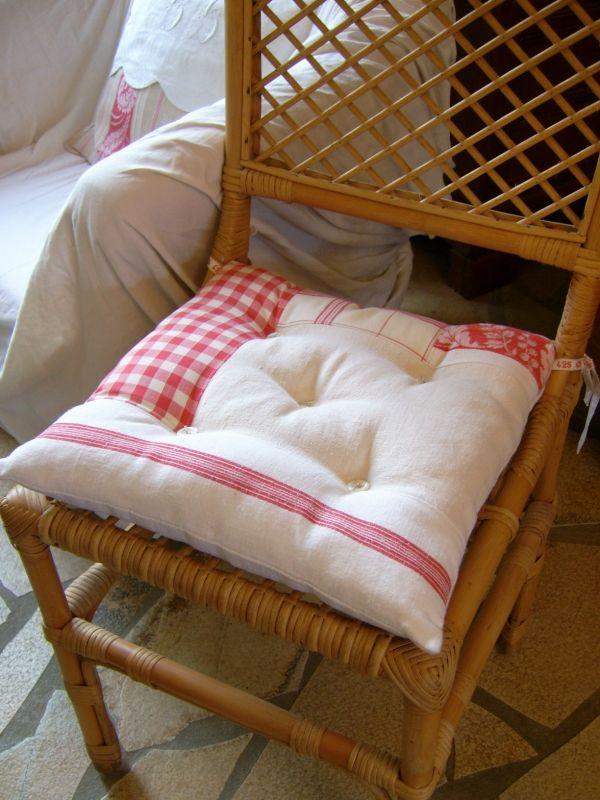 17 meilleures id es propos de coussins de chaise de - Galettes de chaises de jardin ...