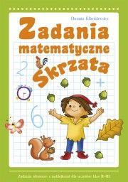 Księgarnia Wydawnictwo Skrzat Stanisław Porębski - WYDAWNICTWO DLA DZIECI I MŁODZIEŻY - Zadania matematyczne Skrzata