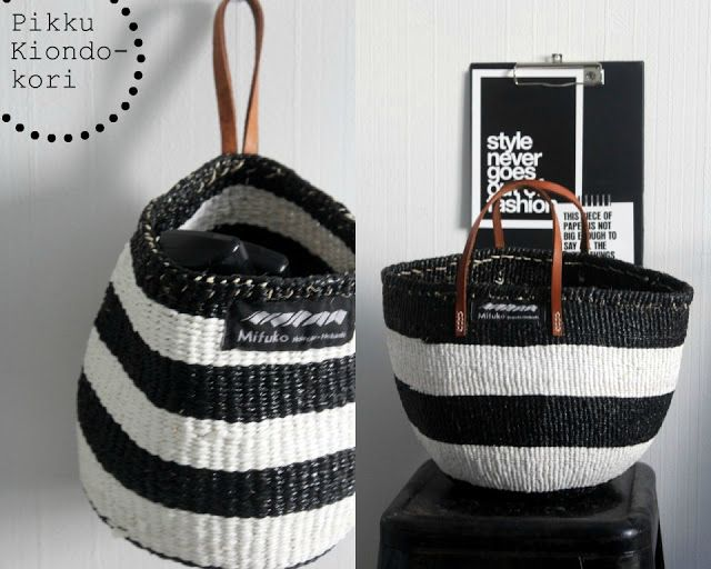 Mifuko's Kiondo baskets......I remember my mom having purses like these back in the day!