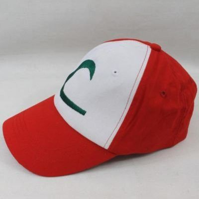 New Visor Cap POKEMON ASH KETCHUM COSTUME Cosplay Hat free shipping