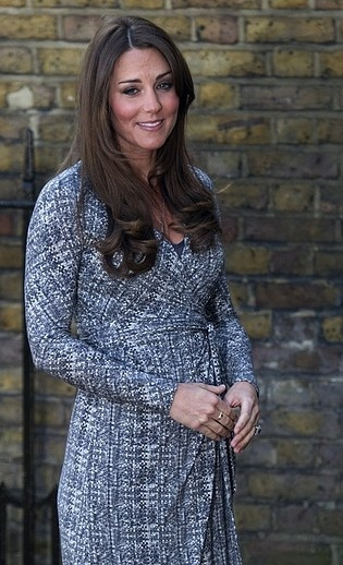 Kate Middleton Shows Baby Bump in Flattering Dress For First Time Since Bikini Photo Scandal | StyleCaster
