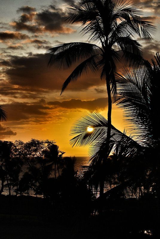 hawaiian sunset | Flickr - Photo Sharing!