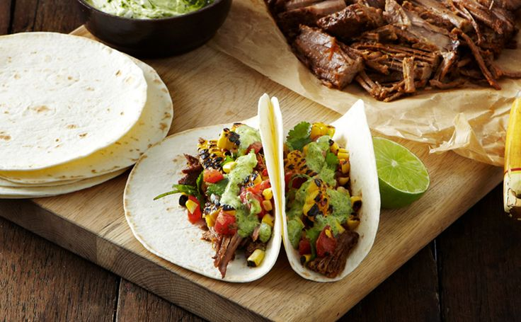 Your challenge this week? Learn how to make an amazing beef brisket mexican feast!
