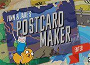 Jake y Finn Postcard Maker