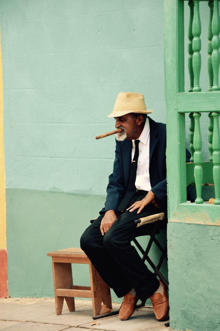 Cigar Cubain - Trinidad - Cuba