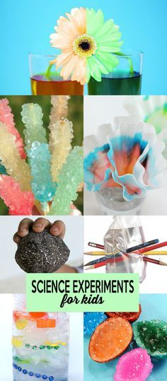 25 Science Experiments to help keep your kids entertained and learning outside! Love these ideas!