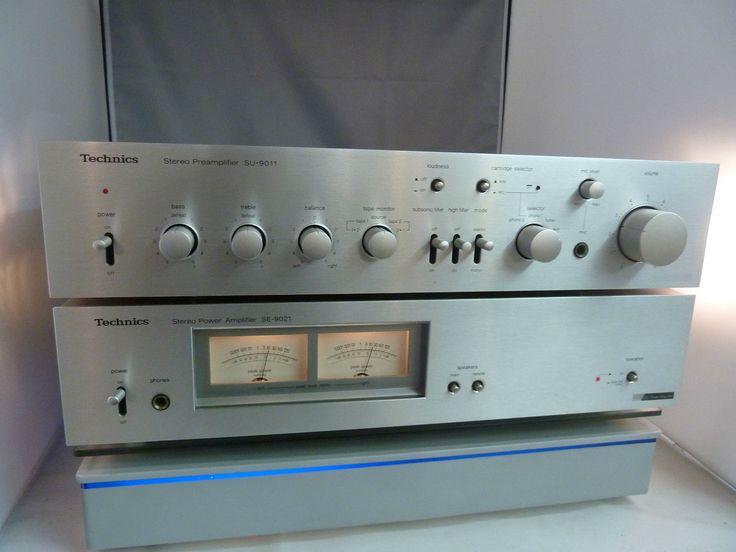 Technics SE-9021 2 Kanäle Verstärker | Vintage and eBay