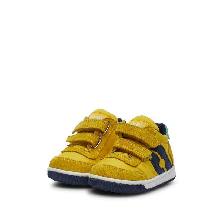 Sneakers En Cuir Et Nylon Vega Vl – Taille : 20;21;24;25;26;19