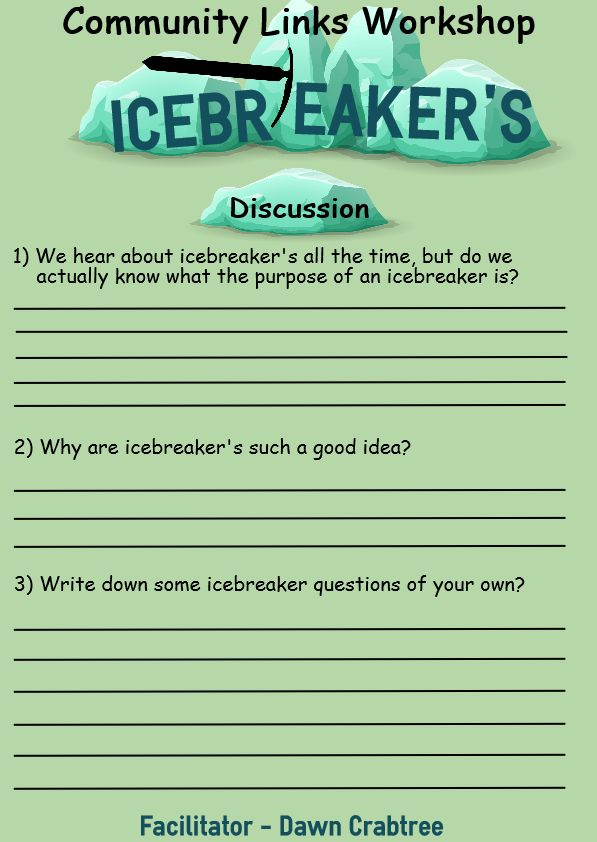 Discussion about icebreaker's
