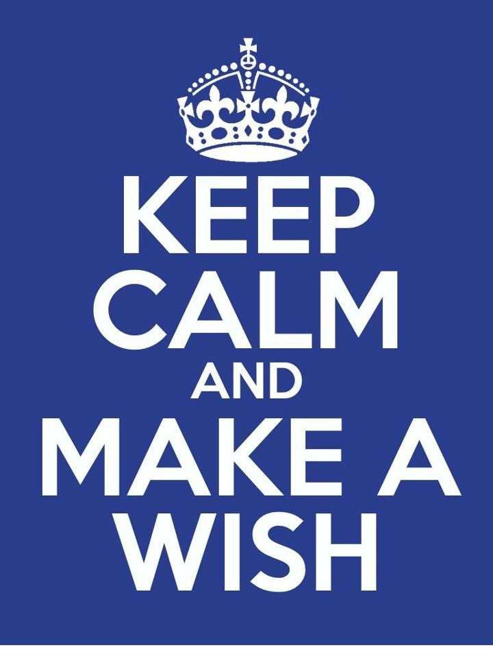 Make-A-Wish Foundation promotional card