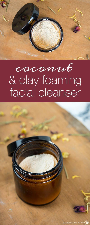 Coconut Clay Facial Cleanser Recipe
