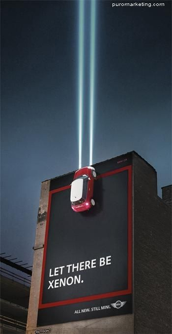 Best Outdoor Campaign : Mini in the Sky  Follow me in Twitter:@Johnny Matos