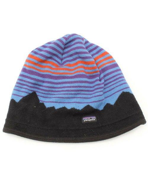 【ZOZOTOWN】patagonia(パタゴニア)のブランド古着「ボーダー柄ニットキャップ」(ニットキャップ/ビーニー)を購入できます。