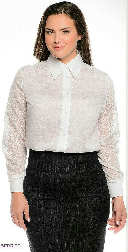 d603d08464e Pin by Magik Dragon on Buttoned Up Ladies in 2019 | Blouse, skirt ...