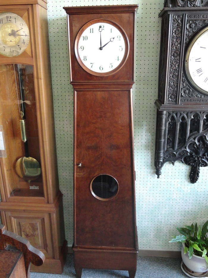 this is a german floor clock made by lfs lorenz furtwangler in furtwagen black forest. Black Bedroom Furniture Sets. Home Design Ideas