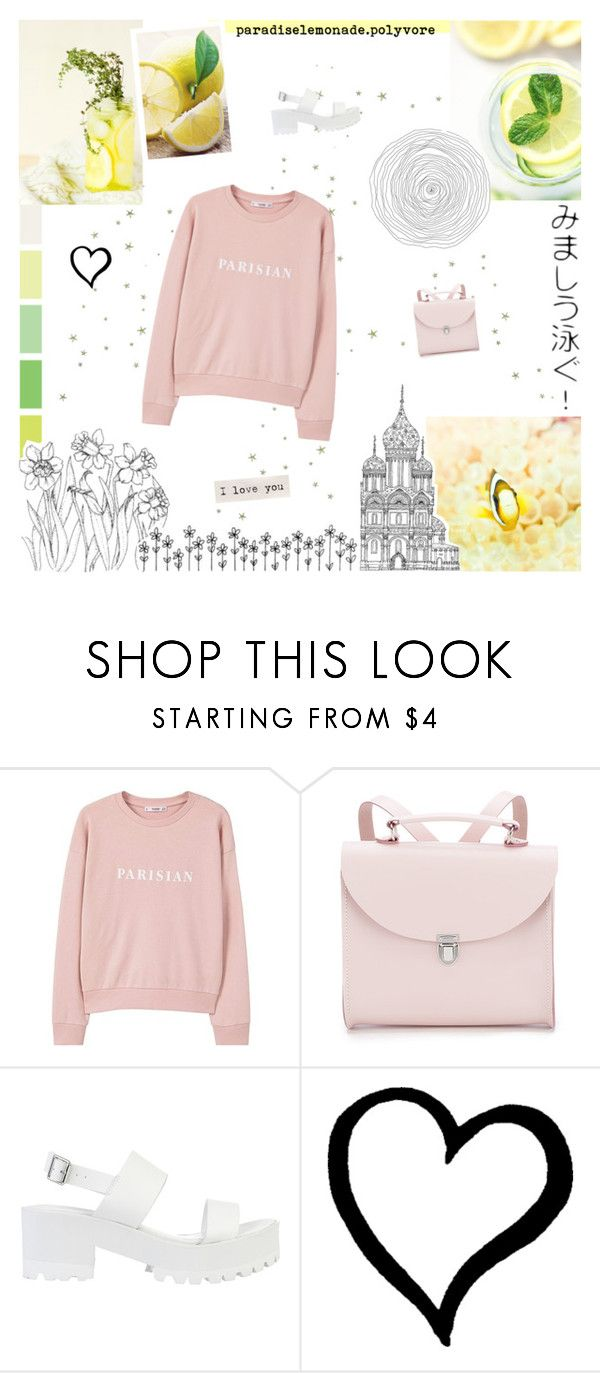 """""""TESTING MY TEMPLATE #6"""" by paradiselemonade ❤ liked on Polyvore featuring MANGO, The Cambridge Satchel Company and River Island"""