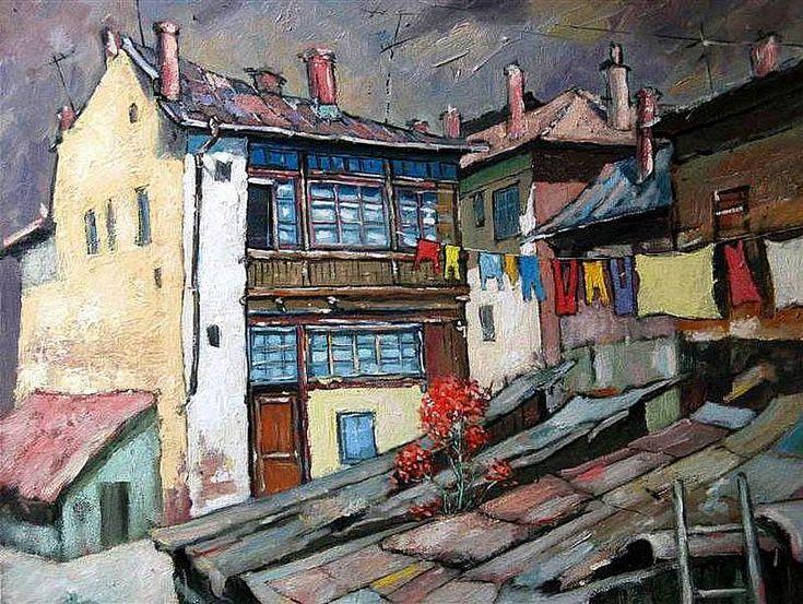 David Croitor. Jewish old houses in Vatra Dornei