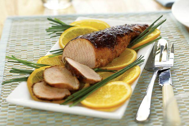 Honey Spice-Rubbed Pork Tenderloin