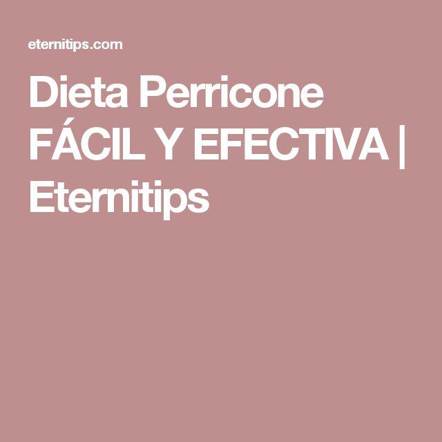 Dieta Perricone FÁCIL Y EFECTIVA | Eternitips