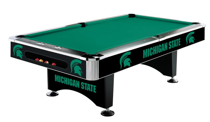 Imperial International Michigan State Pool Table   http://www.gameroomhub.com/collections/pool-tables/products/imperial-international-michigan-state-8-pool-table