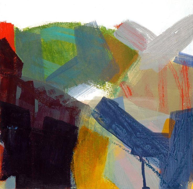 Modern ArtBuyer: Through Blue-Green by Julia Wilson