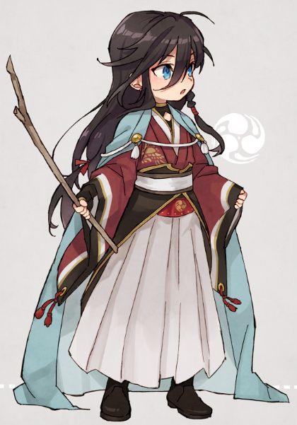 Touken Ranbu chibi 刀剣乱舞 (Izumi Nogami Kanesada)