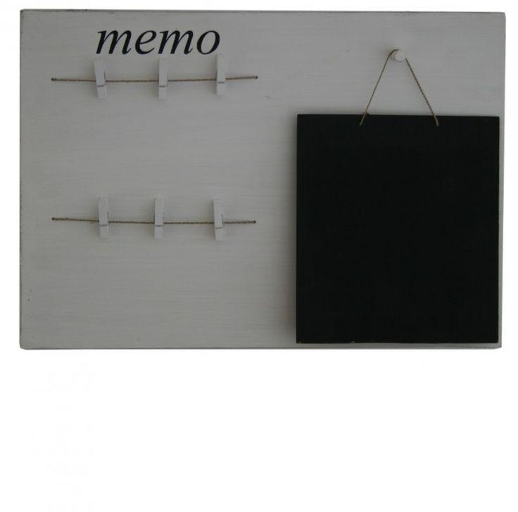 Krijtbord en memobord in een leuk voor in de gang keuken op kantoor voor een klein prijsje - Verf een ingang en een gang ...