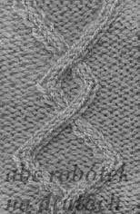 Znalezione obrazy dla zapytania ściegi na druty schematy