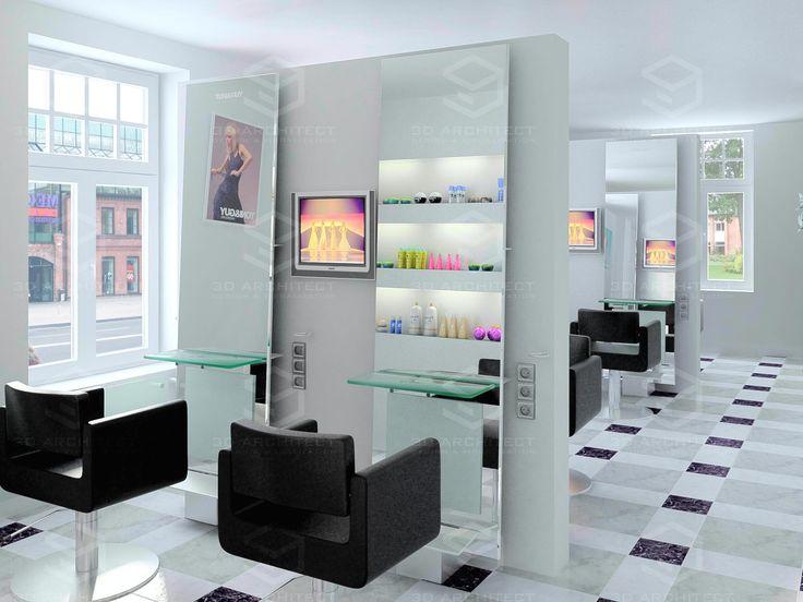 парикмахерская интерьер - Поиск в Google