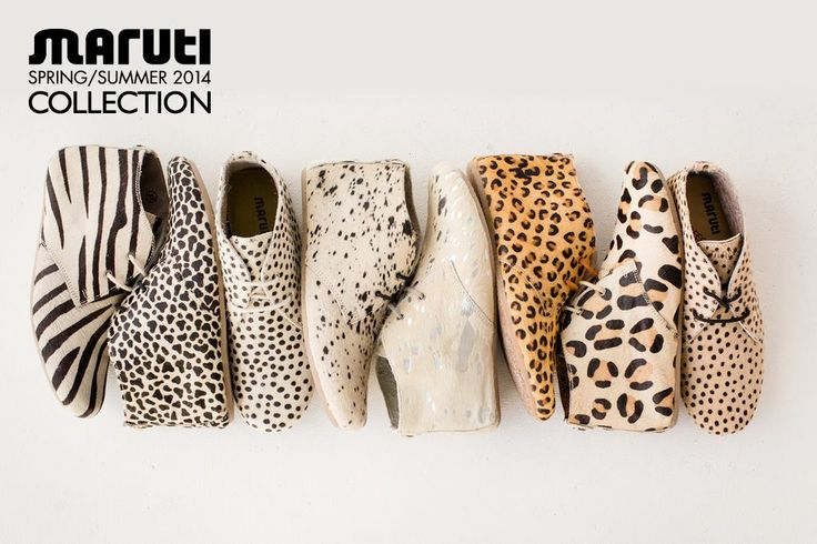 MARUTI Gimlet pony hair shoes collection SS14