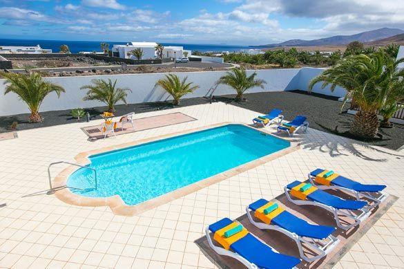 Villa Doramas, Puerto Calero, Lanzarote. Find more at www.villaplus.com