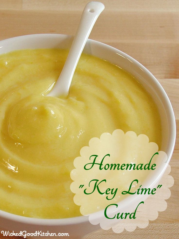 Homemade Key Lime Curd