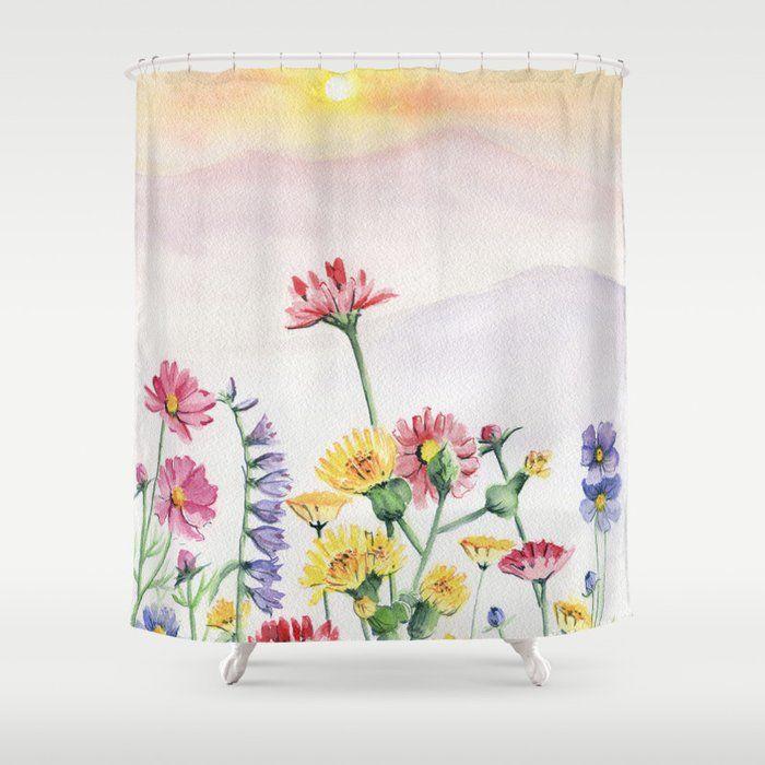 Wildflower By Melly Terpening Wildlfower Wildflowerpainting