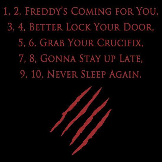 - Freddy Rhyme in A Nightmare on Elm Street (1984)
