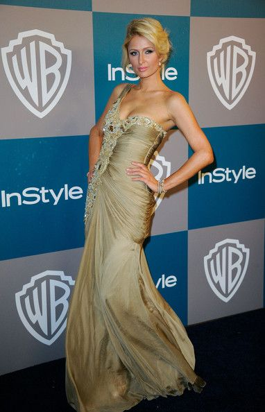 Paris Hilton arrives at 13th Annual Warner Bros. and InStyle Golden Globe Awards After Party at The Beverly Hilton hotel on January 15, 2012 in Beverly Hills, California.