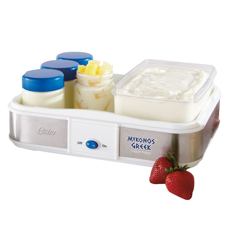 Personal Edge : Oster Mykonos Greek Yogurt Maker, Large