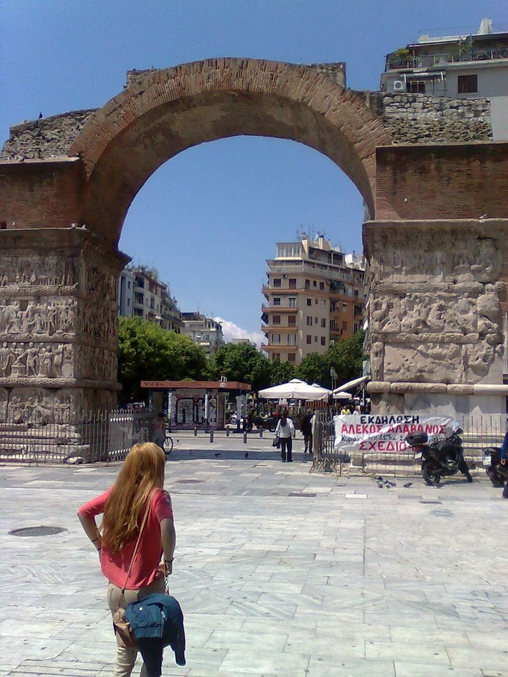 Kamara or Arch of Galerius.An ancient roman monument