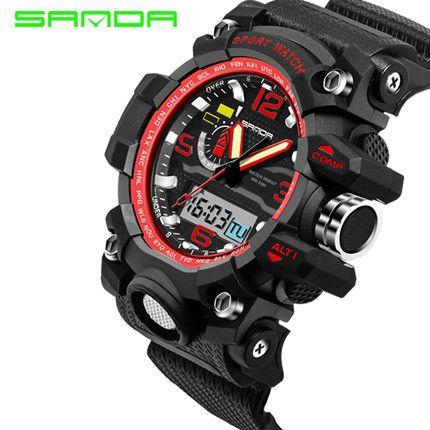Waterproof Sports Digital Watches S-Shock Army Military Sport Watch