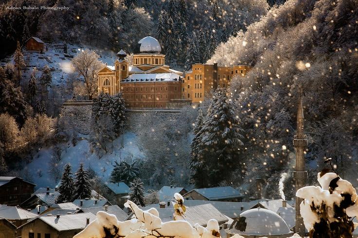 epic snowflakes... Fojnica, Bosnia