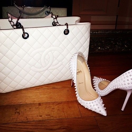 Christian Louboutin is a must have for Jetset Babes. Get inspired: http://jetsetbabe.com/christian-louboutin-is-a-must-have-for-jetset-babes Chanel