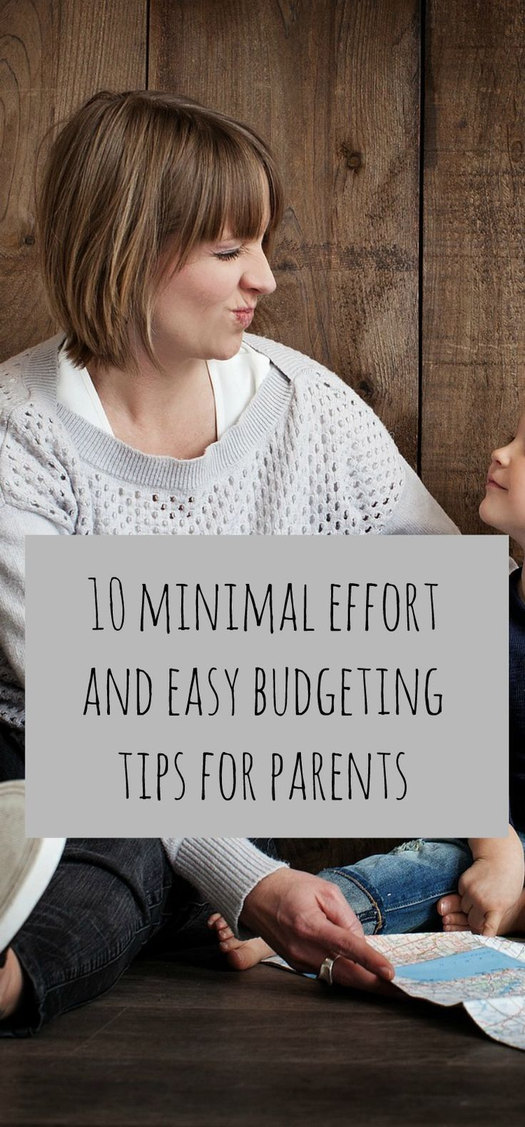 10 minimal effort and super EASY budgeting tips for parents. Family budgeting strategies and thrifty family tips to make your budget go further. Advice for frugal parenting