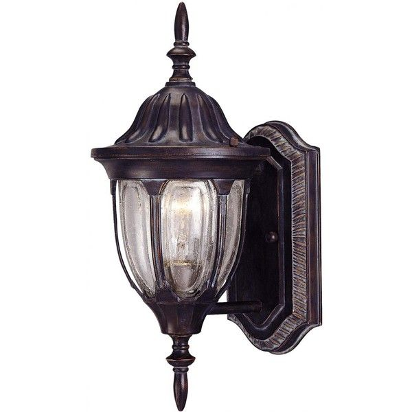 savoy house tudor one light 14inch wall mount lantern bark u0026 gold outdoor wall
