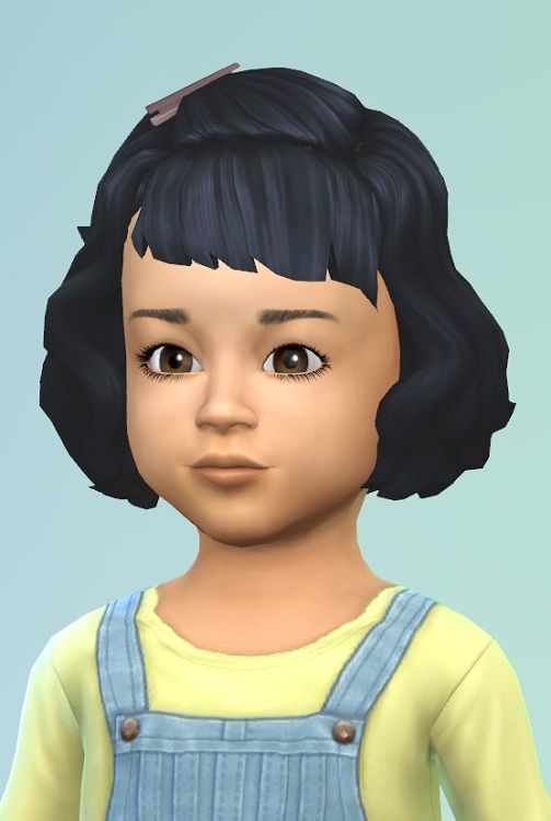 Birkschessimsblog Vintage Toddler Hair Sims 4 Downloads