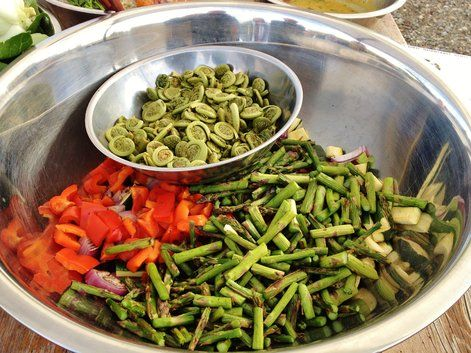 seasonal veggies - An Okanagan farm-to-table al fresco dining experience | Devour and Conquer