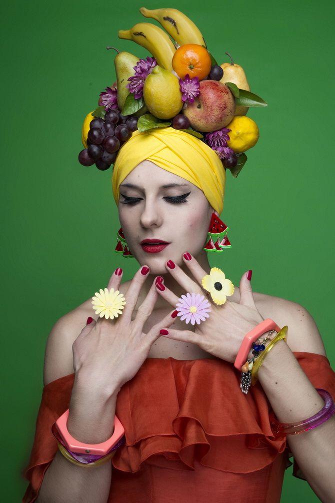 "My future Halloween costume - ""fruit salad"" - via Cherry Blossom Girl and chicfeed"