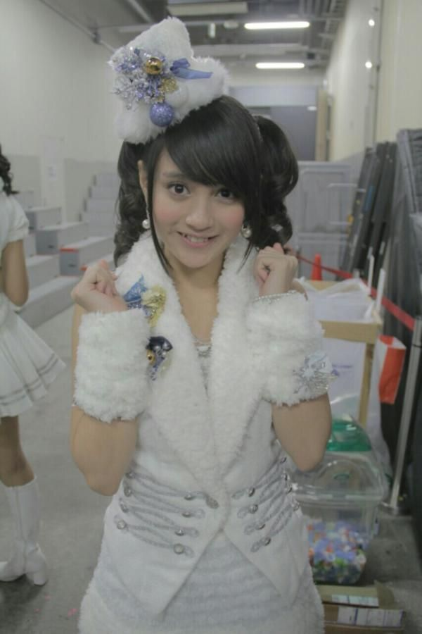 #nabilah #member #jkt48 #sister #group #of #akb48 #cute #2013 #Like a #snow #white #front #line